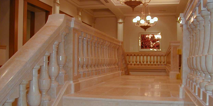 Reach Holy Land - Marble & Stone : Projects - Fairmont Hotel